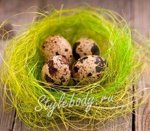 Цінність перепелиних яєць для здоров`я
