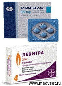 Препарати для поліпшення потенції для чоловіків