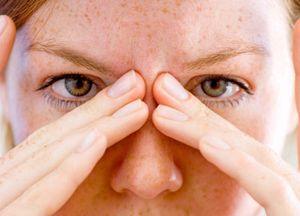 Симптоми і лікування фронтита або фронтального синуситу